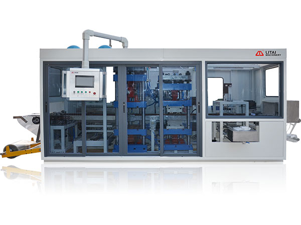 TTF-780A Full Automatic Three-Station Plastic Thermoforming Machine